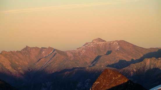 Mt. Seton to the East