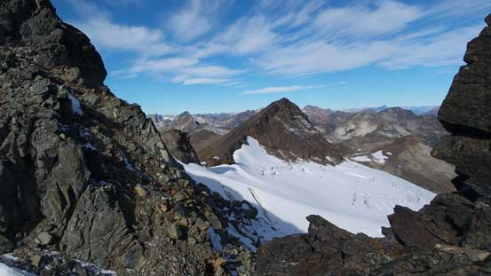 A view from the col