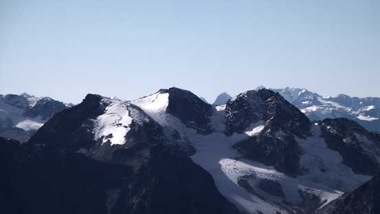 The N. Face of Birkenhead Peak