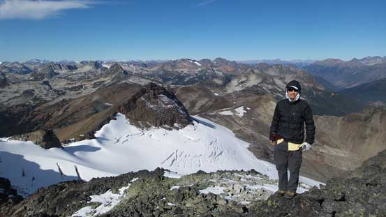 Me on the summit of Prospector Peak