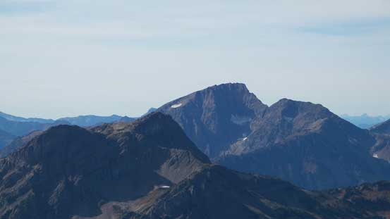 Mt. Outram is the highest peak by Manning Park