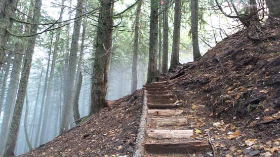 Staircases on the trail