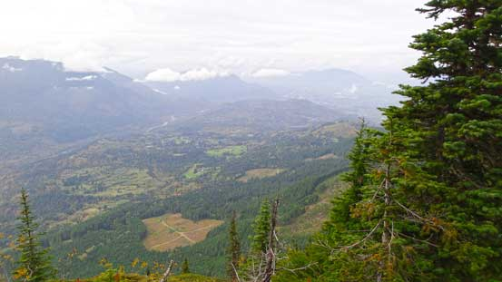A view of Chilliwack Valley