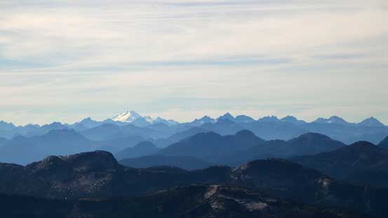 Mt. Baker and the peaks on Cheam Range