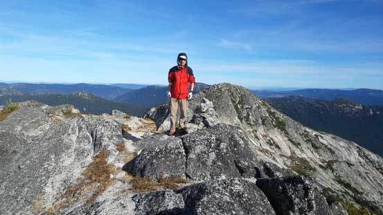 Me on the summit of Vicuna Peak
