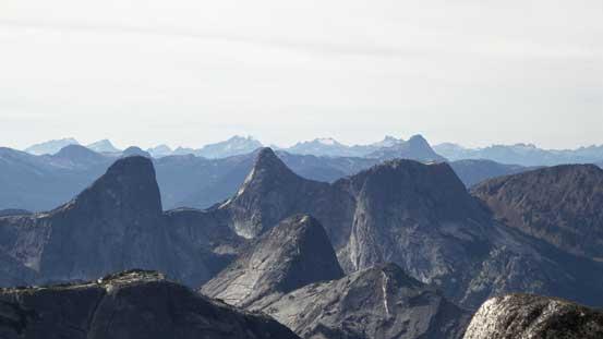 Steinbok, Ibex and Chamois Peaks