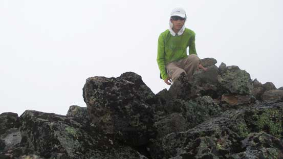 Me on the summit of Mt. Seton