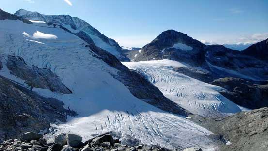 """The """"double-glacier"""" shot"""