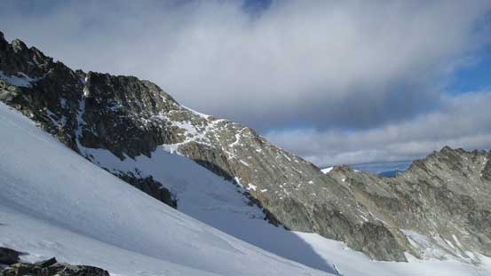 The NE side of Mt. Weart