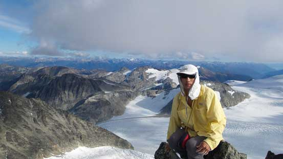 Me on the summit of Mt. Weart