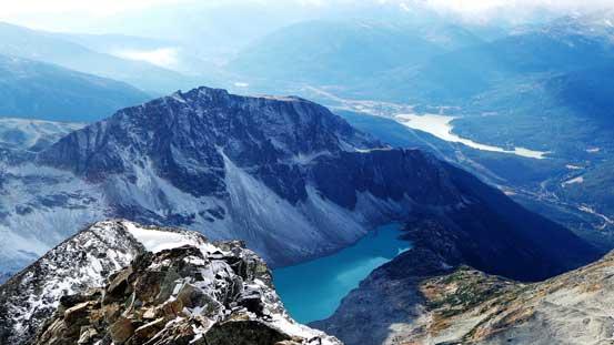 Rethel Mountain and Wedgemount Lake