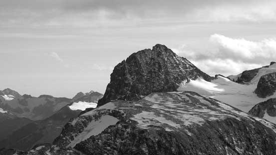 Lesser Wedge Mountain isn't a small peak itself...