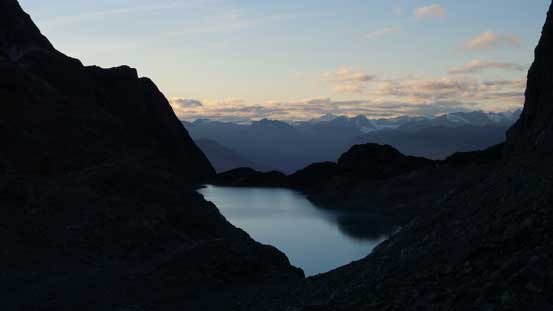 Started to see Wedgemount Lake again