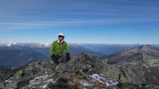 Me on the summit of Mt. Cook