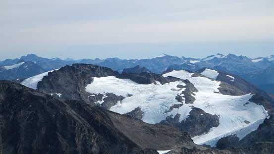 Mt. Neal and Needles Glacier