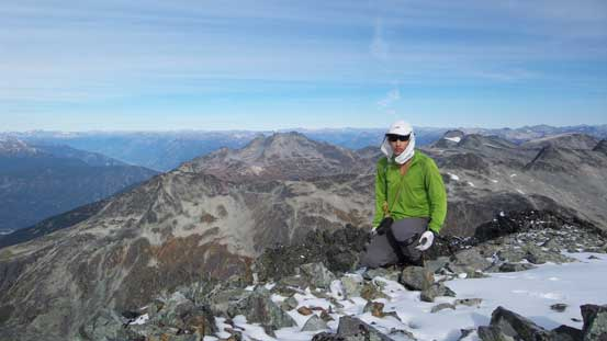 Me on the summit of Mt. Moe