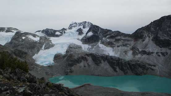 Wedgemount Lake and Wedge Mountain