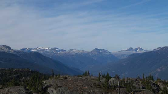 The Soo River Valley with Mt. Callaghan on left