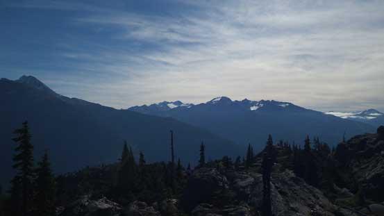 Peaks by Spearhead Range