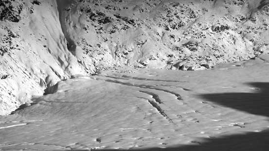 A few more crevasses on Helm Glacier