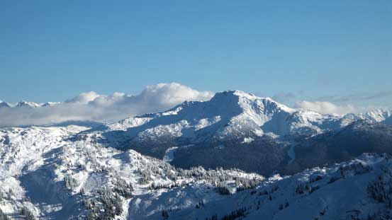 Whistler Mountain on Fitzsimmons Range