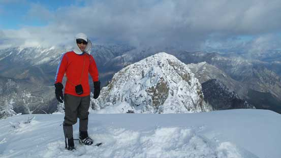 Me on the summit of Northern Peak