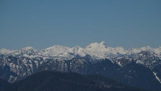 The rarely climbed Robertson Peak