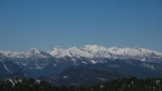 Mt. Clark area west of Harrison Lake