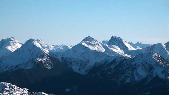 Mt. Webb, MacDonald Peak and Mt. Lindeman group