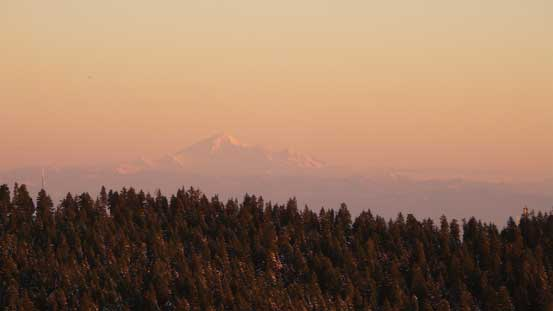 Mt. Baker on the horizon