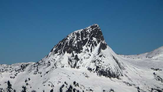 A closer look at Vicuna Peak
