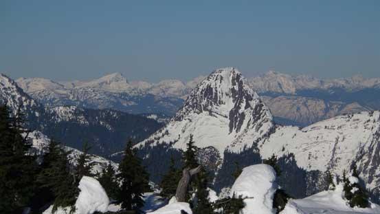 Gemse Peak is another striking granite spire