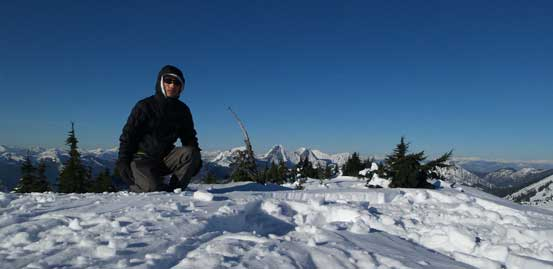 Me on the summit of Zupjok Peak