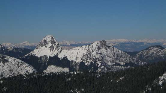 Gemse Peak and Reh Peak