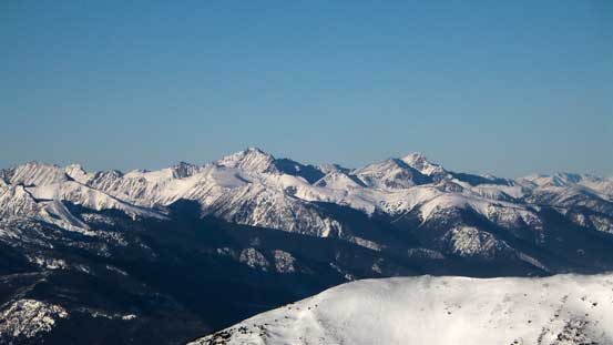 Mt. Bobb (L) and Mt. Williams
