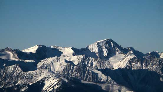 The mighty Whitecap Mountain is the 3rd highest in SW BC...