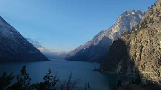 Because we missed the view of Seton Lake from the summit I did one tourist stop on the way back