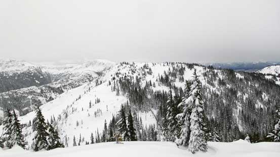 Great Bear Peak ahead