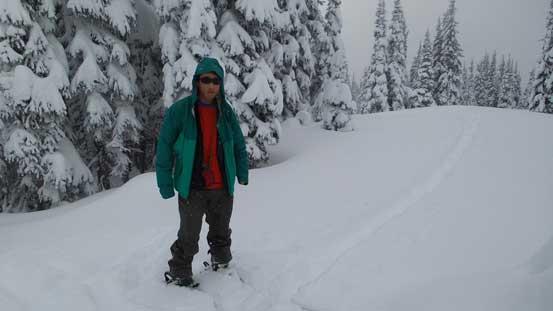 Me on the summit of Mt. Kelly