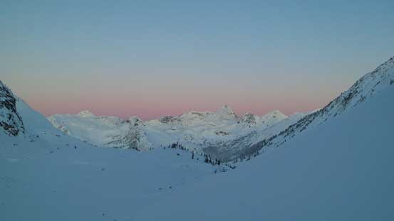 Just before Alpenglow time