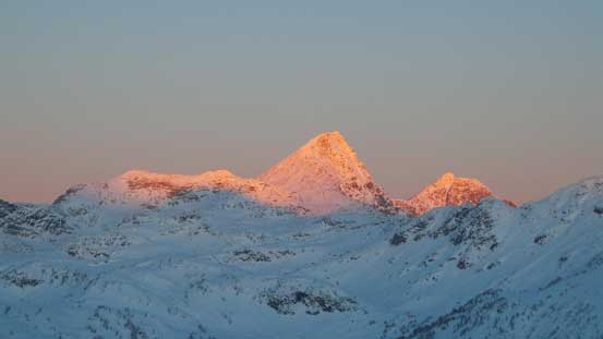 Alpenglow full-on