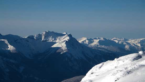Mt. Currie is the biggest peak one can see from Pemberton - also bagged earlier this year