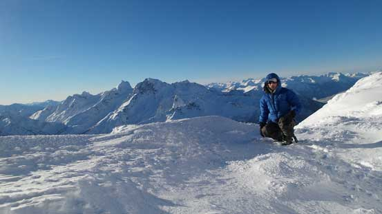 Me on the summit of Mt. Rohr