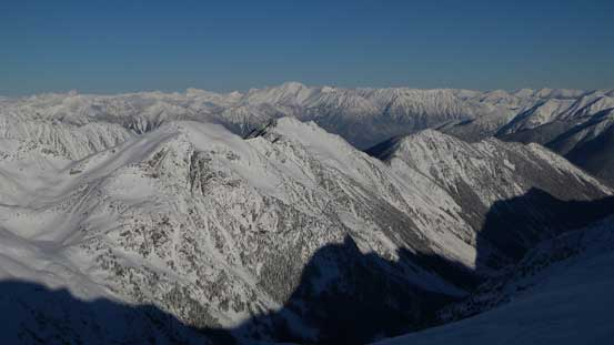 A wider picture of the Interior Zone of Coast Mountains