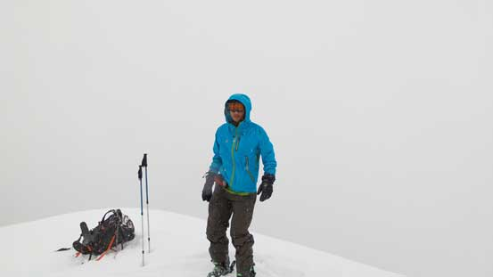 Me on the summit of Whisky Peak