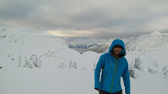 Me on the summit of Tarn Peak