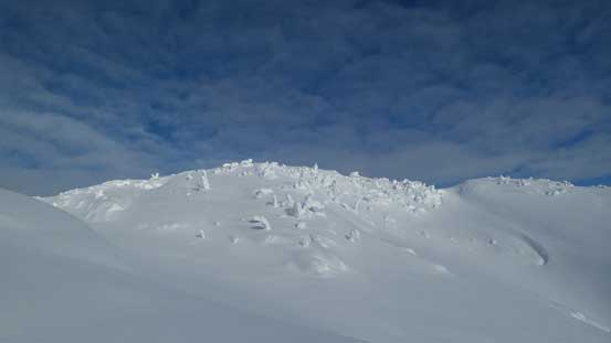 The upper plateau