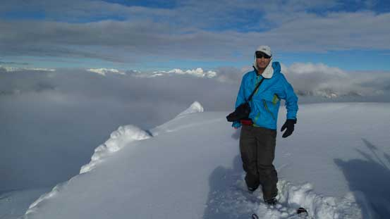 Me on the summit of Shields Peak