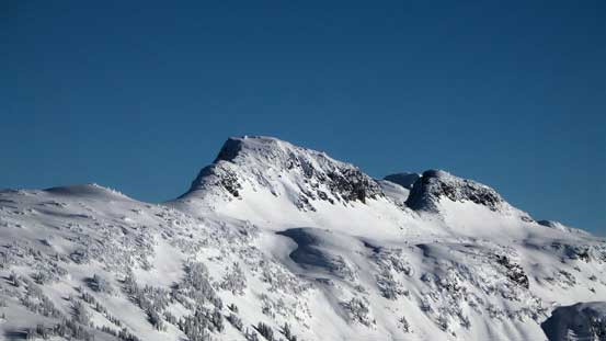 Anemone Peak and Tabletop Mountain