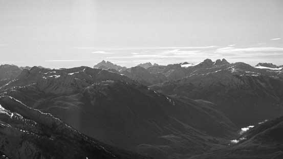 Mt. Judge Howay and Mt. Robie Reid on center skyline